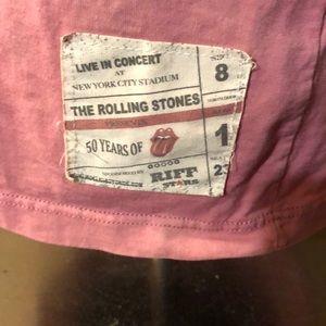 riff stars Shirts - Rolling Stones Riff Stars T-shirt. Size M.
